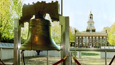 Philadelphia: de 'Liberty Bell' en 'Independence Hall'